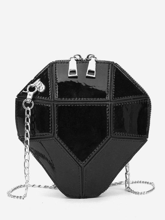 Cheap Splicing Link Chain Design Crossbody Bag