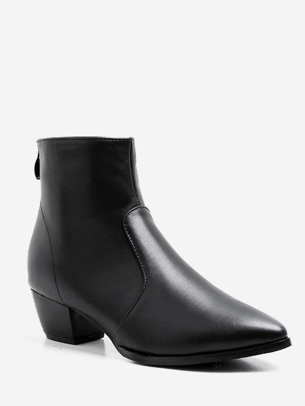 Fancy Pointed Toe Ankle Boots
