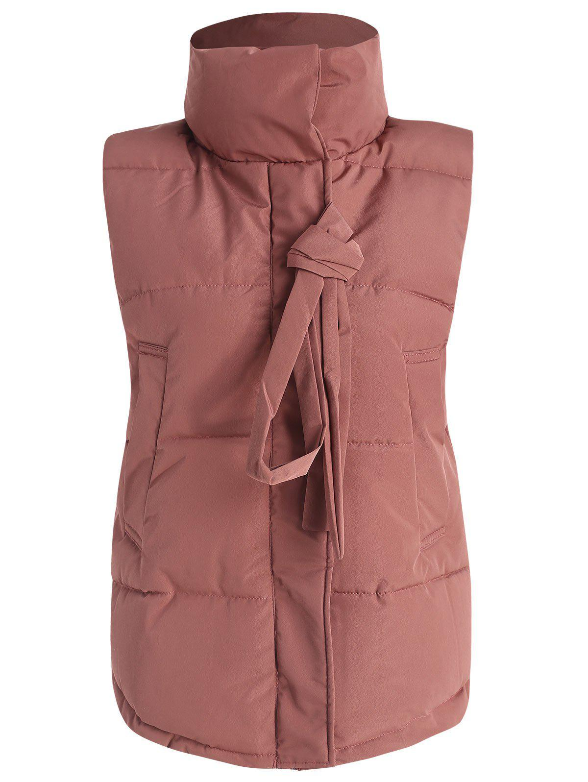 Shops Snap Button Padded Waistcoat
