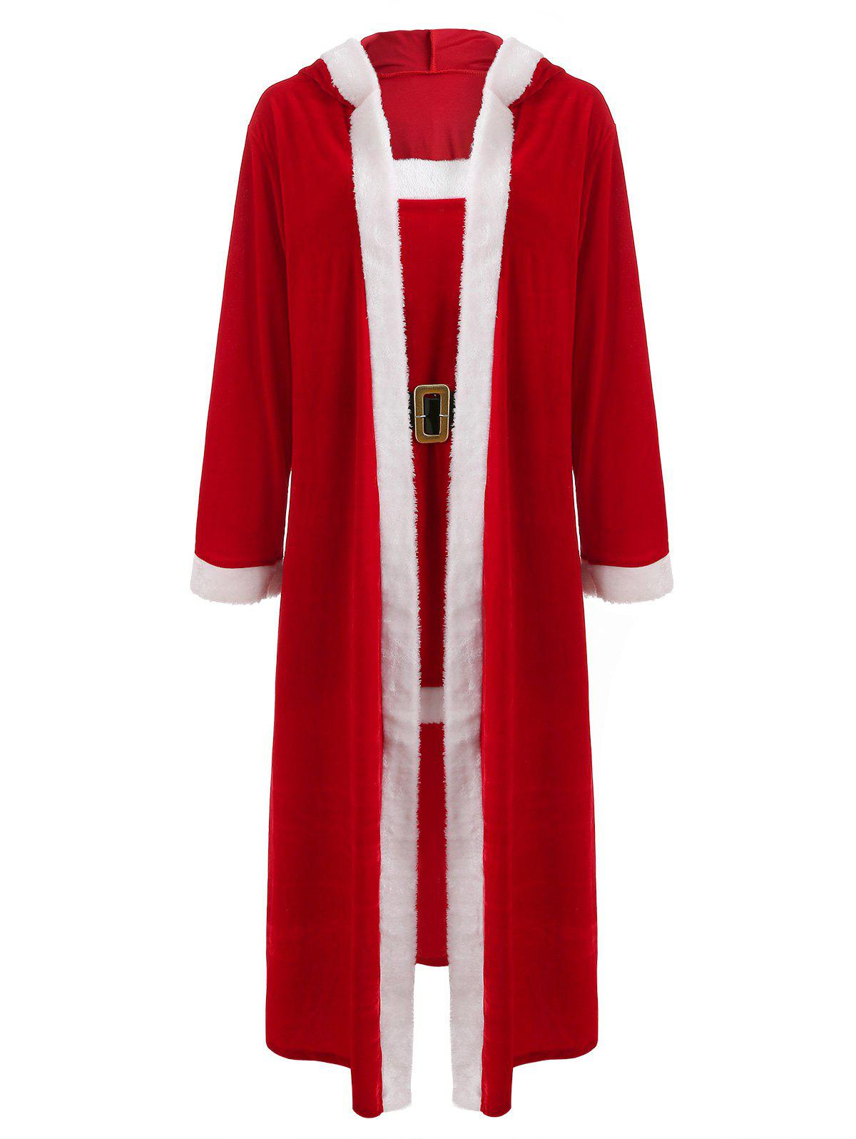 Online Christmas Santa Claus Cosplay Costume Set