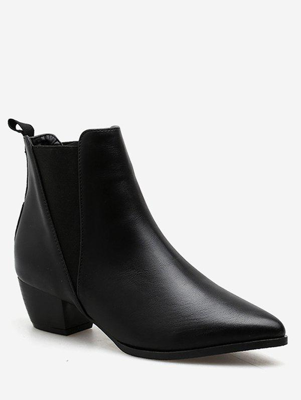 Latest Pointed Toe Chelsea Ankle Boots