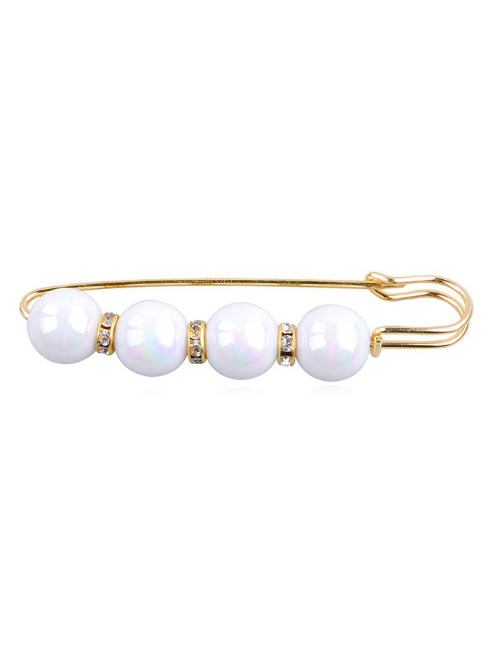 Best Artificial Pearl Embellished Brooch Pin