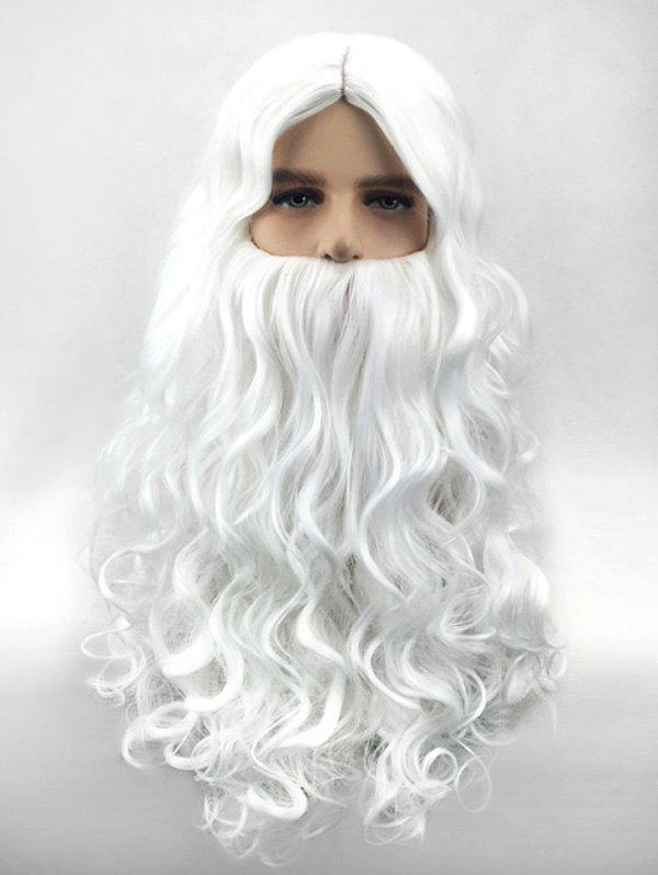 Online Synthetic Christmas Santa Claus Cosplay Wig