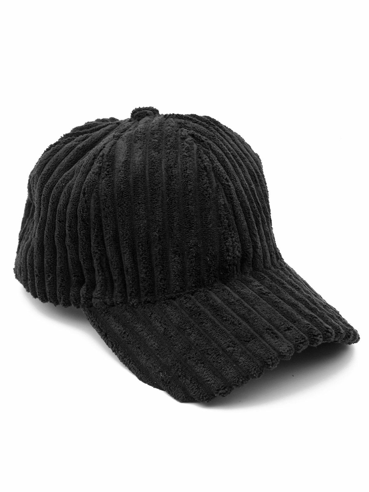 Discount Thick Striped Adjustable Baseball Cap