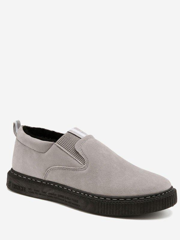 Best Contrast Suede Loafer Shoes