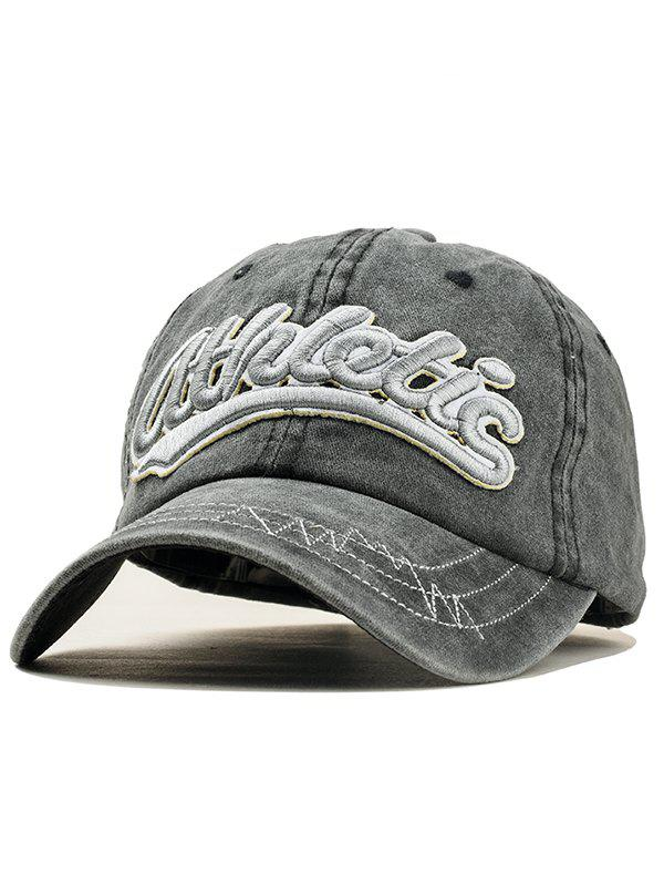 Shops Stylish Letter Embroidery Adjustable Sport Hat