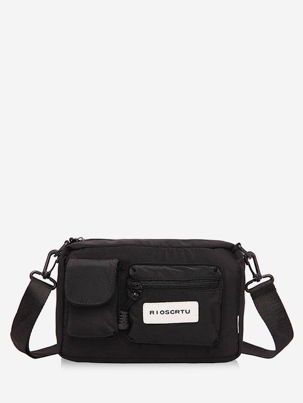 Store Multiple Pockets Crossbody Bag