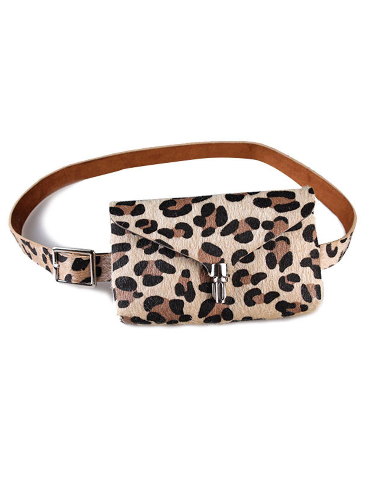 Hot Leopard Fanny Pack Faux Leather Belt Bag
