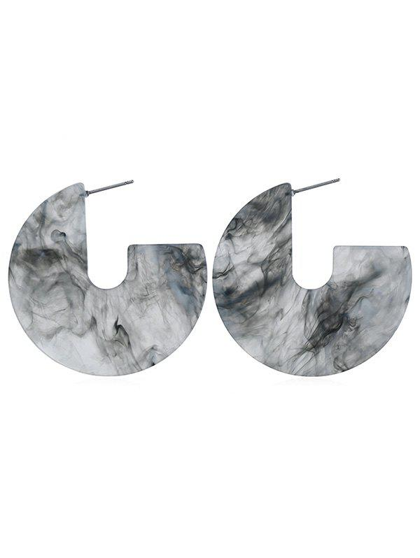 Best Artificial Marble Shape Earrings