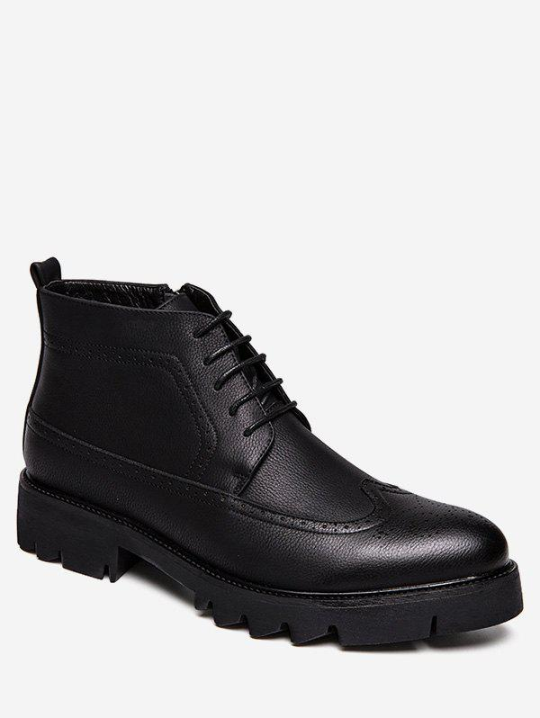 Latest Lace Up Ankle Wingtip Boots