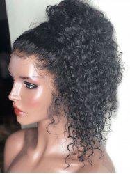Free Part Long Curly Lace Front Wig -