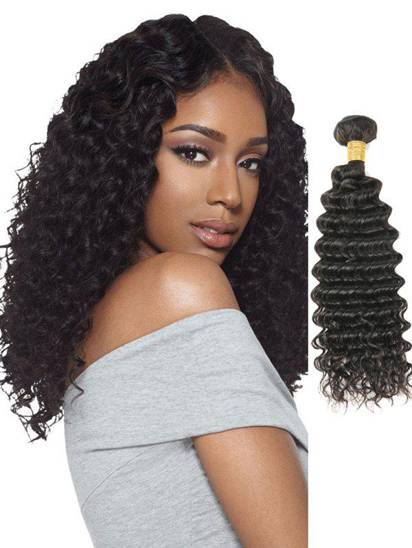 11 Off 2018 1pc Deep Wave Peruvian Remy Human Hair Weave In Black