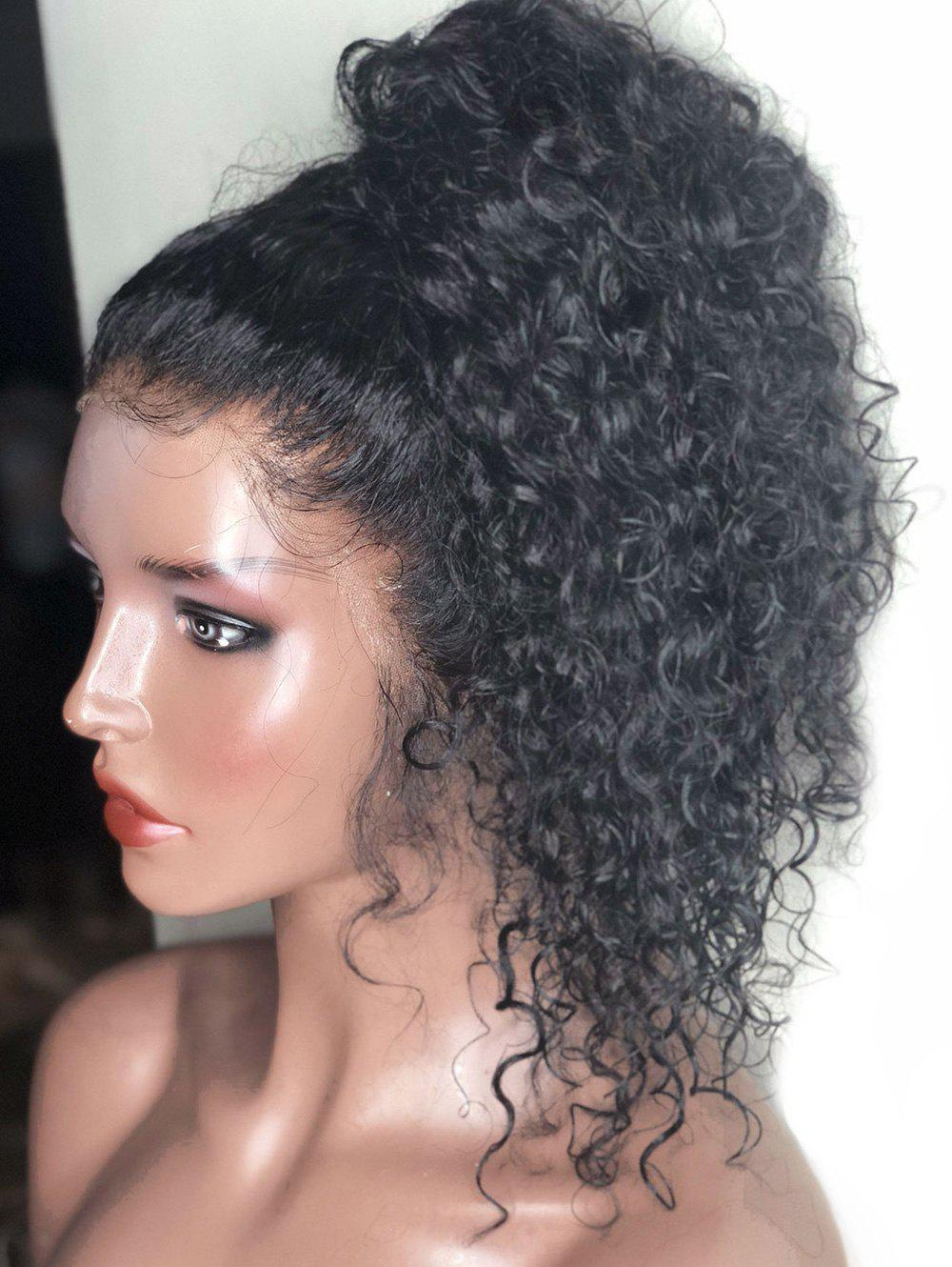 Fancy Free Part Long Curly Lace Front Wig