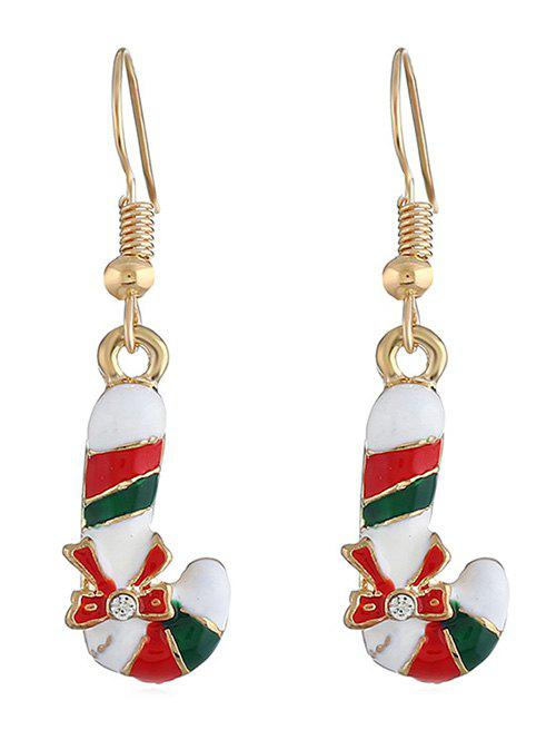 Affordable Christmas Candy Bar Rhinestone Earrings