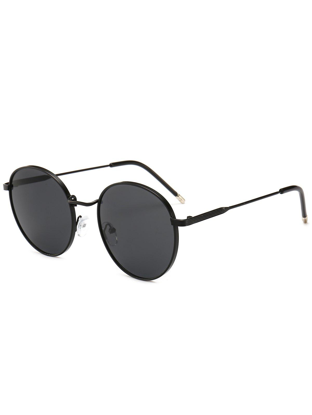 Trendy Stylish Metal Frame Round Sunglasses