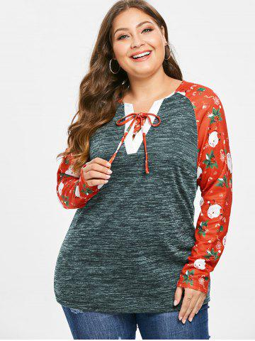 3897287f089 Christmas Tops - Tunic, Long Sleeve And Red Cheap With Free Shipping