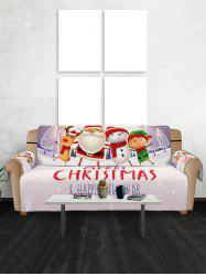 Christmas Companions Pattern Couch Cover -