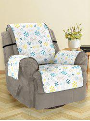 Christmas Snowflakes Pattern Couch Cover -
