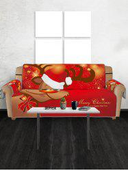Christmas Elk Pattern Couch Cover -