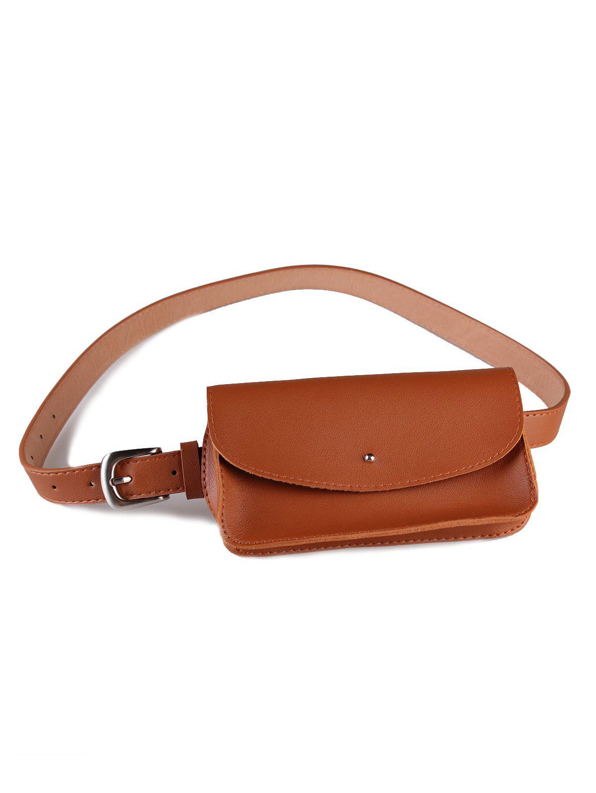 Store Removable Funny Bag Artificial Leather Skinny Belt