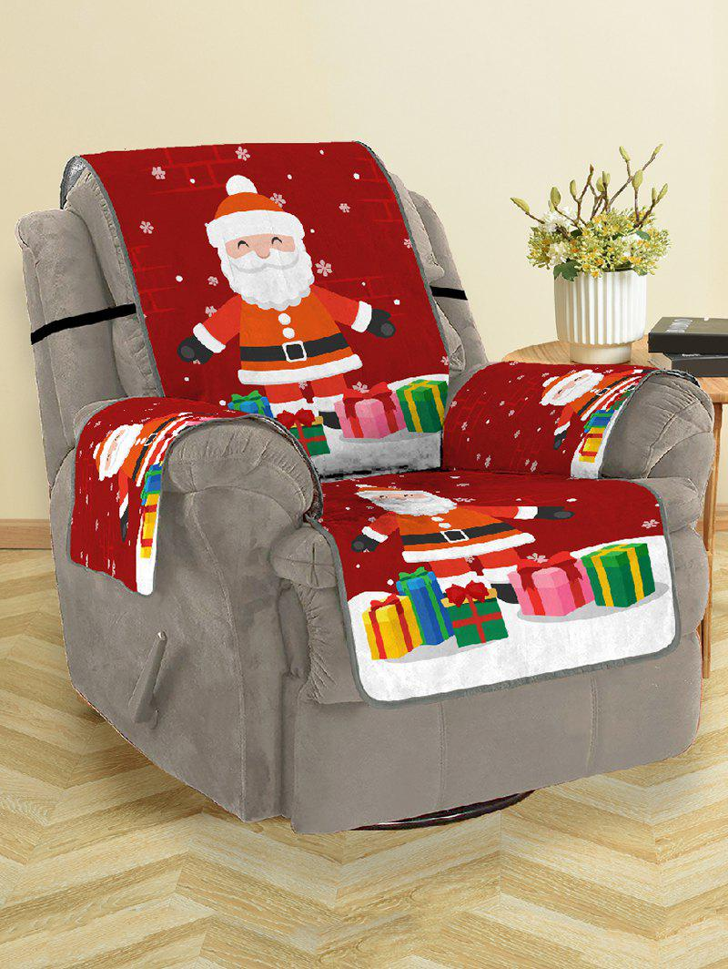 New Christmas Santa Claus Gifts Pattern Couch Cover