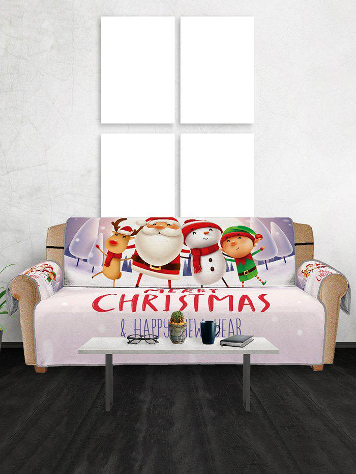Outfit Christmas Companions Pattern Couch Cover