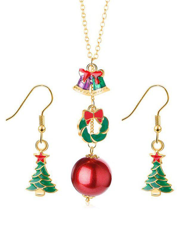 Affordable Star Christmas Tree Design Jewelry Set