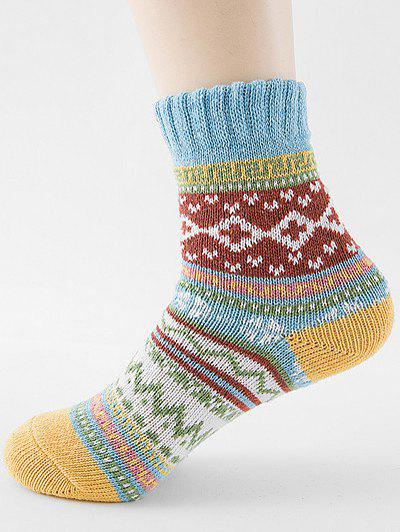 Outfits Ethnic Style Printing Winter Socks