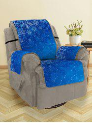 Christmas Snowflakes Printed Sofa Cover -