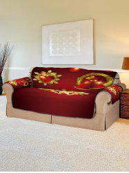 Christmas Pattern Printed Sofa Cover -