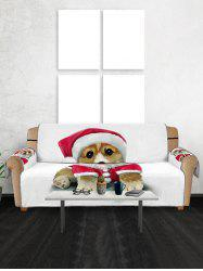 Christmas Dog Couch Cover -