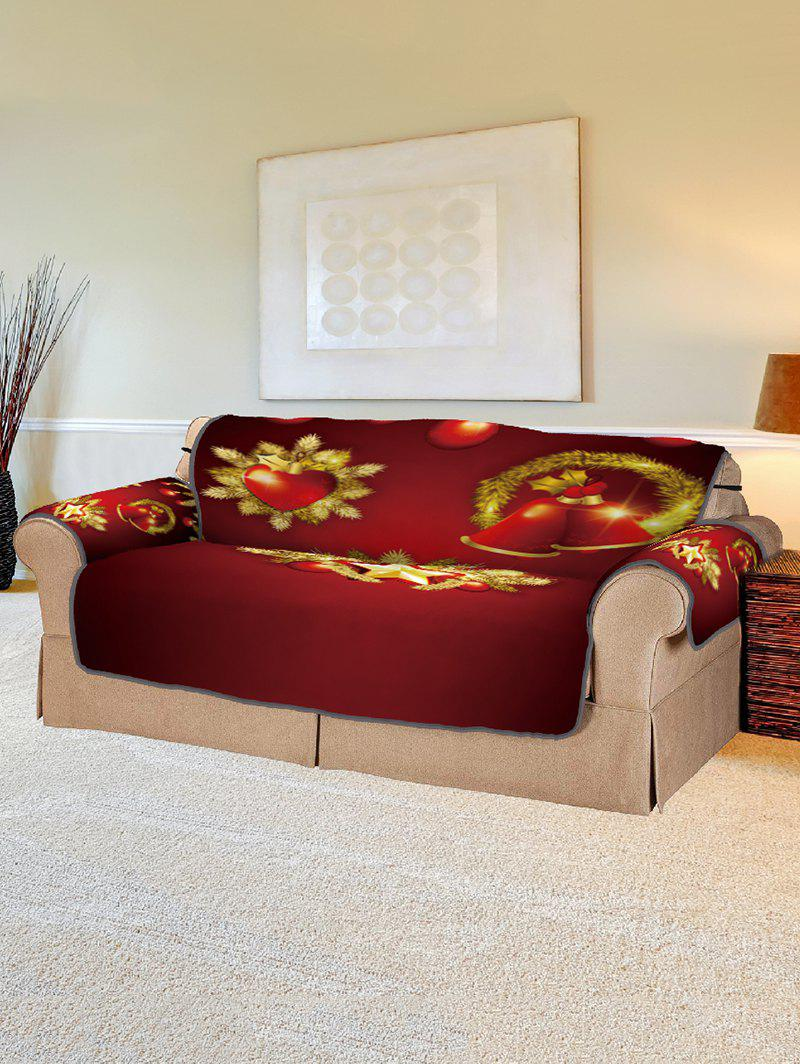 Christmas Pattern Printed Sofa Cover