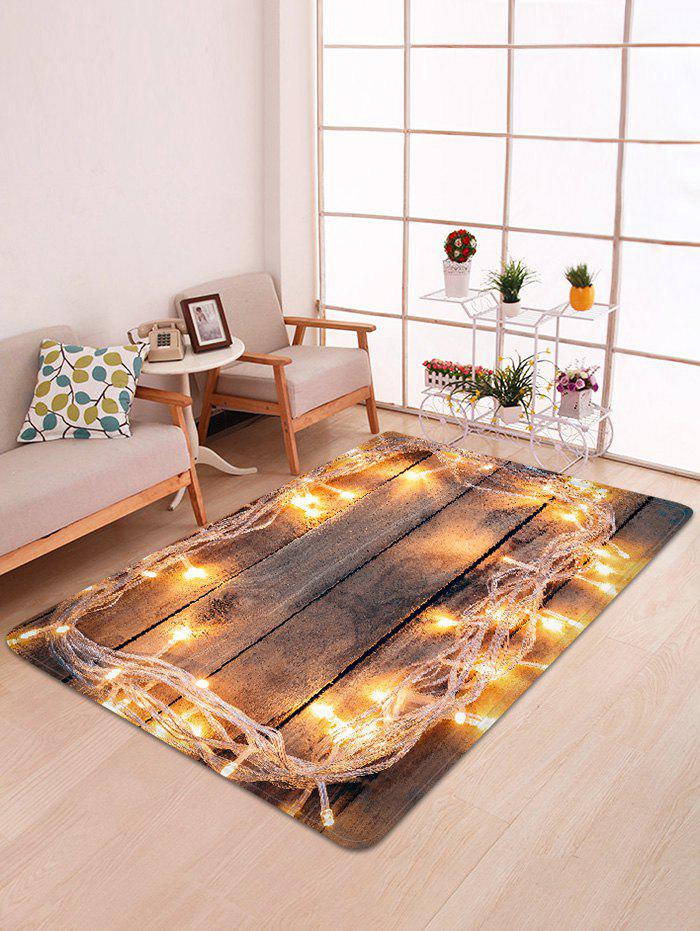 Outfit Lights on Board Pattern Non-slip Area Rug