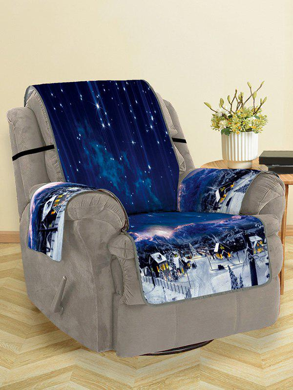 Outfits Christmas Starry Sky Pattern Couch Cover