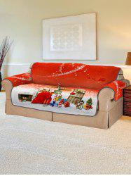Christmas Heart Pattern Couch Cover -