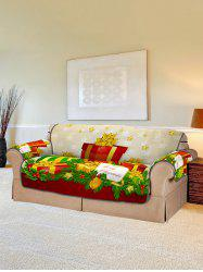 Christmas Gifts Pattern Couch Cover -