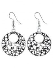 Bohemian Hollow Out Carved Drop Earrings -
