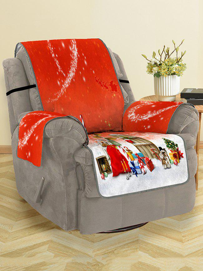Fancy Christmas Heart Pattern Couch Cover