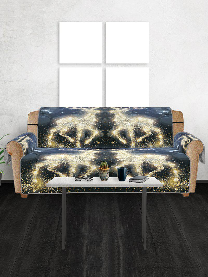 New Christmas Elk Pattern Sofa Cover