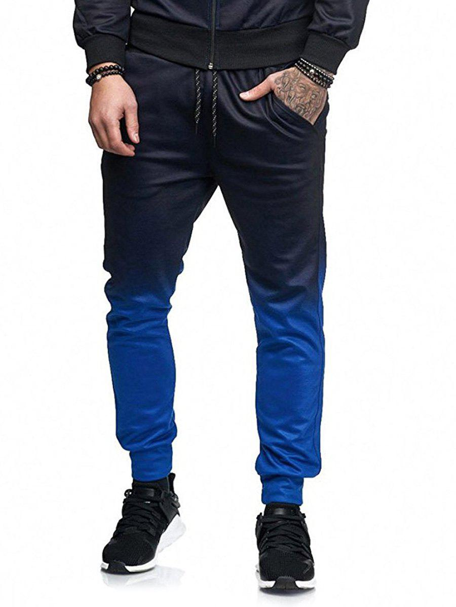 Buy Long Casual Ombre Jogger Pants
