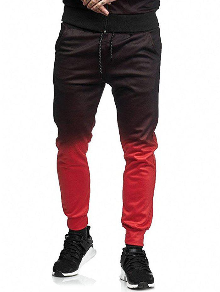 Store Long Casual Ombre Jogger Pants