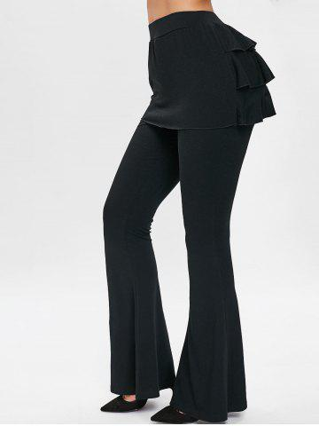 Layered Ruffle Skirt Pants