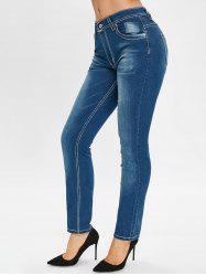 Jeans taille crayon skinny -