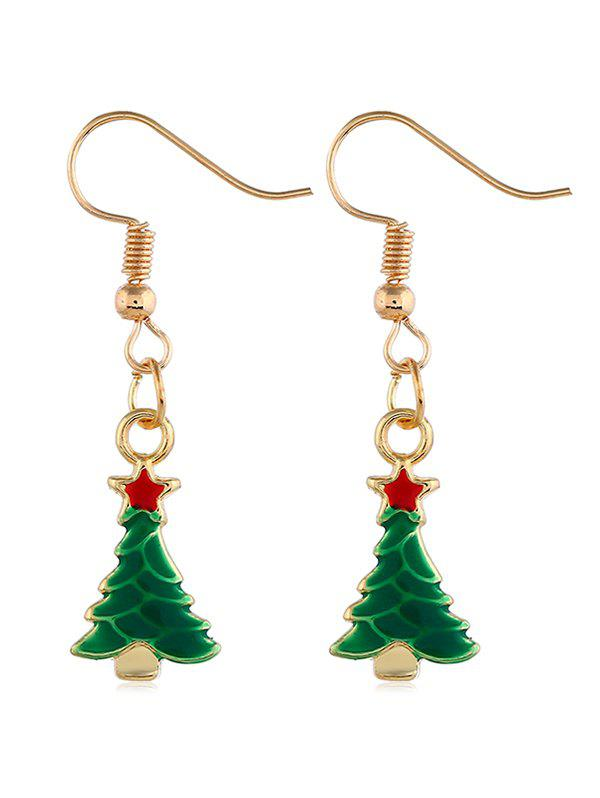 outfits star christmas tree decoration earrings