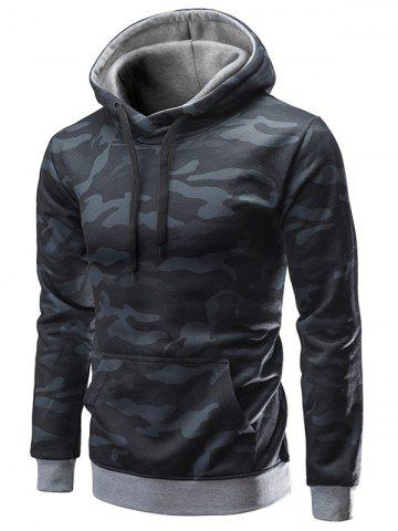 Pouch Pocket Camouflage Hoodie