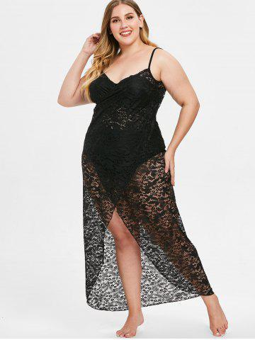 ddbc2af58e7 Plus Size V Neck Dresses - Free Shipping