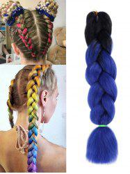 Synthetic Long Colorful Big Braid Hair Extension -