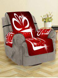 Father Christmas Printed Couch Cover -