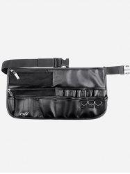 Professional Faux Leather Makeup Brush Waist Bag -