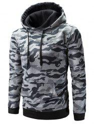 Pouch Pocket Camouflage Hoodie -